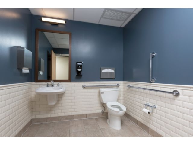 3552-MPU-DST Tesla Two Handle Widespread Bathroom
