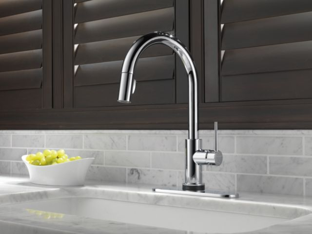 9159t Dst Trinsic Single Handle Pull Down Kitchen