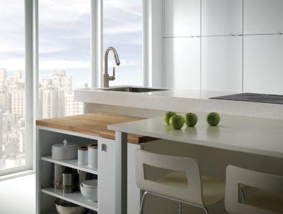 Contemporary Kitchen Design - Delta Faucet Image 1