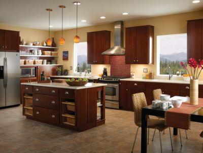 Casual Kitchen Design - Delta Faucet Image 3