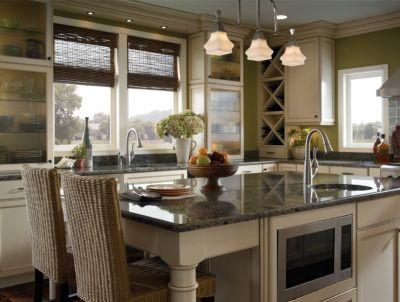 Casual Kitchen Design - Delta Faucet Image 2