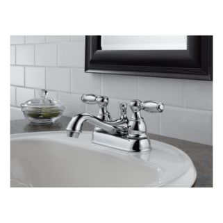 P99675 Bn Two Handle Centerset Bath Faucet