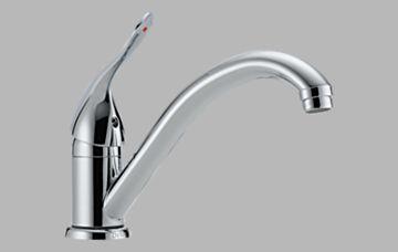 Sink Faucets Single Handle Kitchen Faucet Delta Commercial Faucets