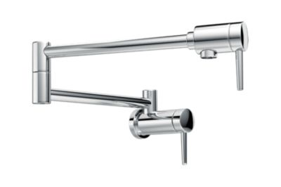 Trinsic Contemporary Wall-Mount Pot Filler