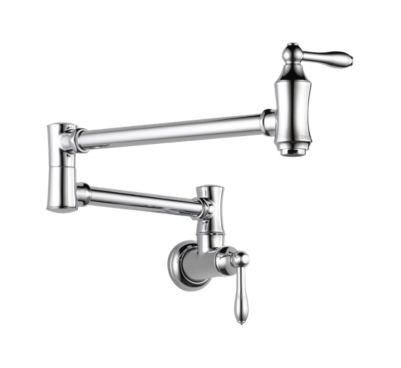Linden™ Wall Mount Pot Filler Faucet - Traditional
