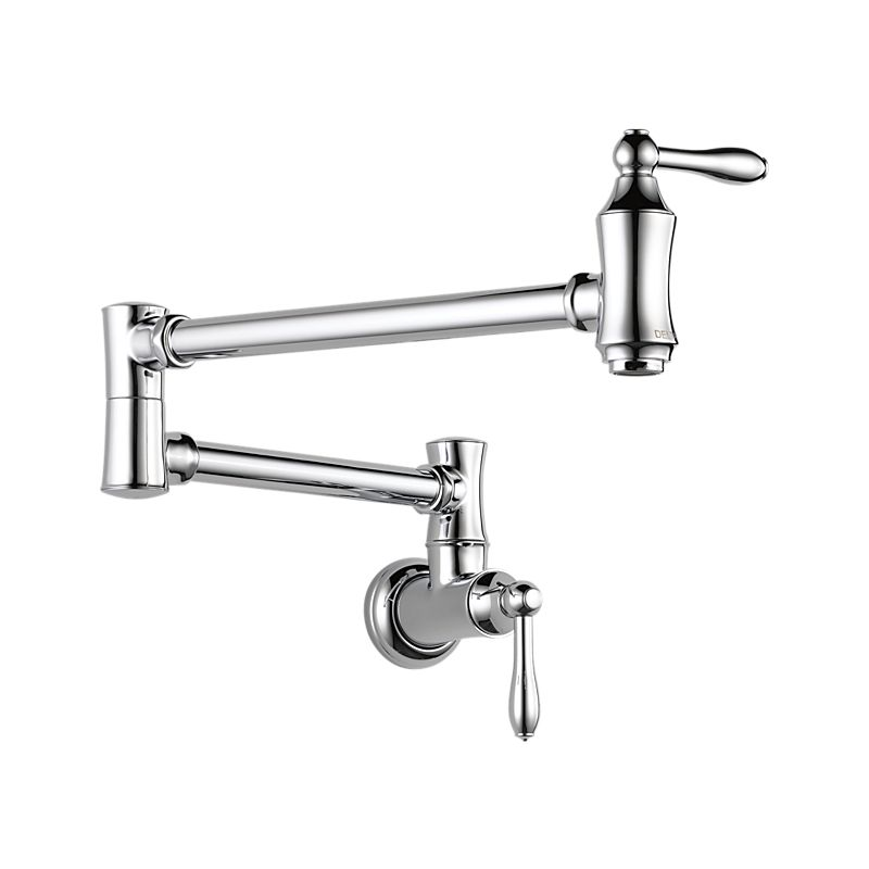 1177lf Delta Traditional Wall Mount Pot Filler Kitchen