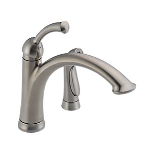 Lewiston Single Handle Kitchen Faucet with Spray
