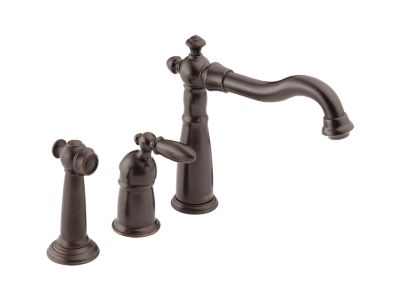 Victorian™ Single Handle Kitchen Faucet with Spray