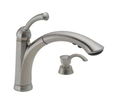 16926-Sssd-Dst Lewiston® Single Handle Pull-Out Kitchen Faucet