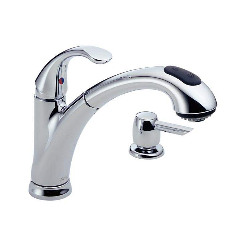 Kitchen Faucet With Soap Dispenser Kitchen Products Delta Faucet