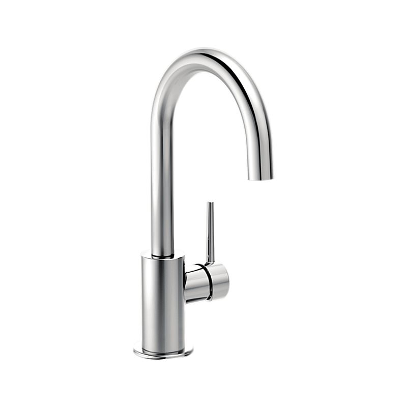 dst arctic p ar faucets sprayer kitchen pull stainless out single trinsic handle delta faucet in