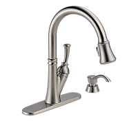 Pull Down Kitchen Faucet with High Flow Filtration System