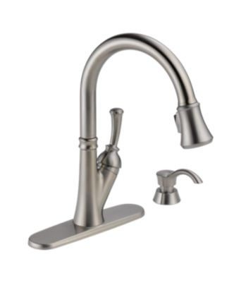 Savile Pull Down Kitchen Faucet with High Flow Filtration System