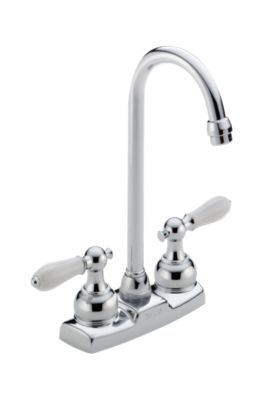 Classic Two Handle Bar / Prep Faucet - Less Handles