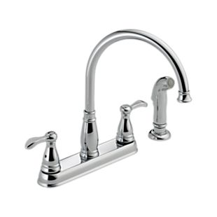 Porter Two Handle Kitchen Faucet with Spray