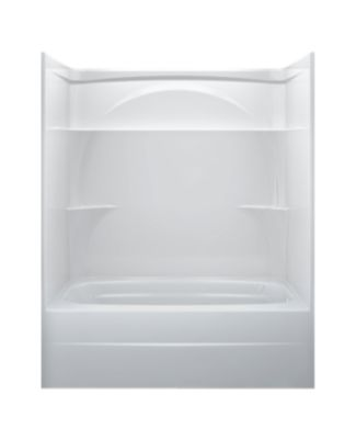 Styla 60in. X 32in. One Piece Tub Shower-Right Drain