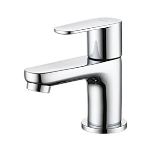 Elemetro Single Handle Cold-Only Bathroom Faucet