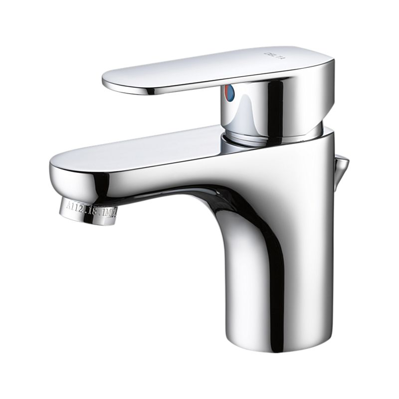 23025 Elemetro Single Hole Bathroom Faucet : Bath Products : Delta ...