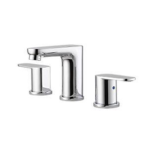 elemetro Two Handle Widespread Bathroom Faucet