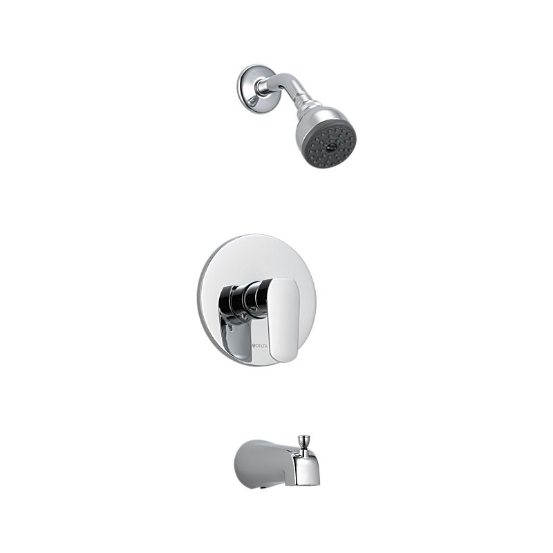 23075 Elemetro In-Wall Tub and Shower : Bath Products : Delta Faucet