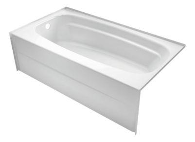 Styla 54in. x 30in. Acrylic with Innovex® Technology Bathtub