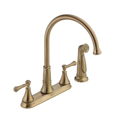 Cassidy™ Two Handle Kitchen Faucet with Spray