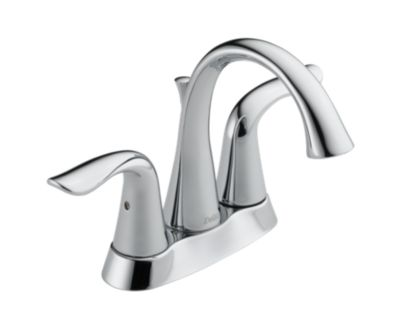 Lahara Two Handle Centerset Lavatory Faucet - Metal Pop-Up