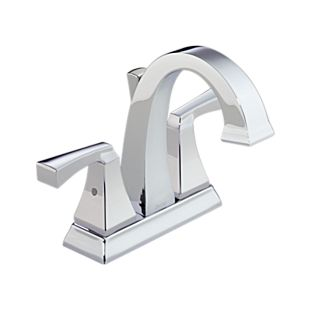 Dryden Two Handle Centerset Bathroom Faucet