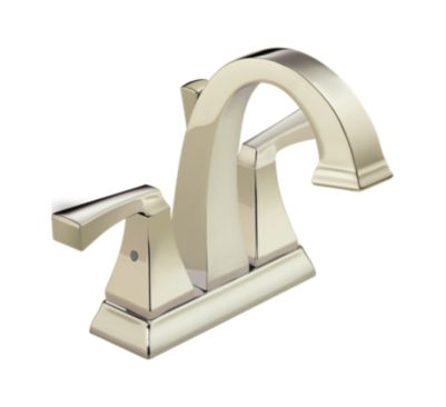 Dryden™ Two Handle Centerset Lavatory Faucet - Metal Pop-Up