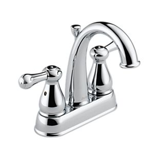 Leland Two Handle Centerset Lavatory Faucet - Metal Pop-Up