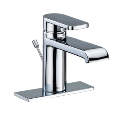Mandolin Single Handle Bathroom Faucet