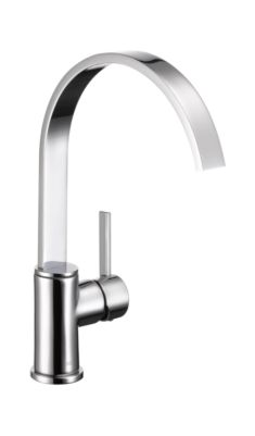 Mandolin Single Handle Centerset Kitchen Faucet