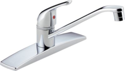 Project Line Single Handle Kitchen Deck   Ceramic Valve System