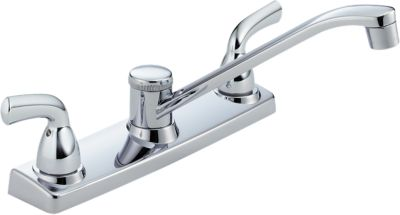 Attrayant Project Line Two Handle Kitchen Deck Faucet   Delex Valve