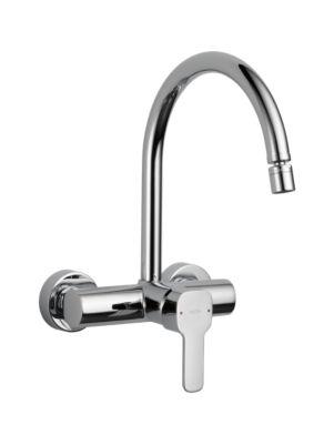 Kami Single Handle Onl Wall Kitchen Faucet