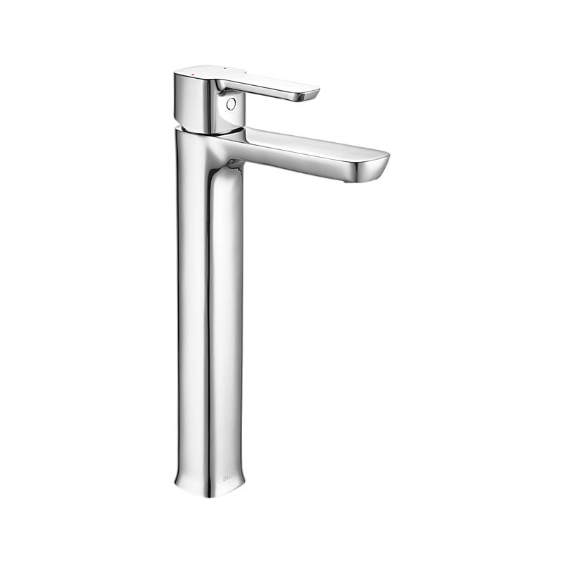 33925-P kami Single Handle Lavatory Faucet with Riser : Bath ...