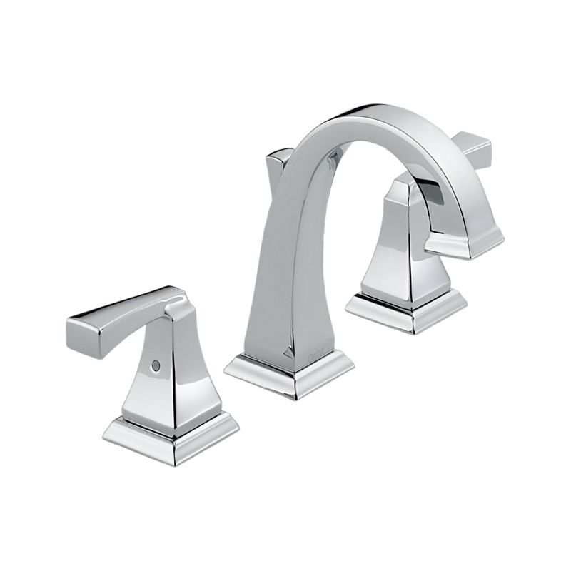 3551lf Dryden Two Handle Widespread Lavatory Faucet Bath Products Delta Faucet