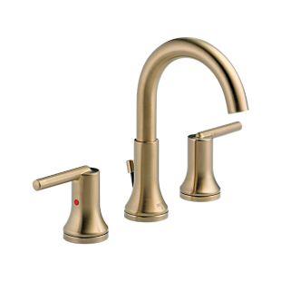 Trinsic Widespread Bath Faucet w/ metal pop-up