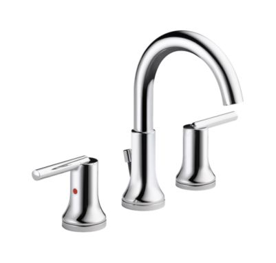 Trinsic Two Handle Widespread Lavatory - Metal Pop-Up