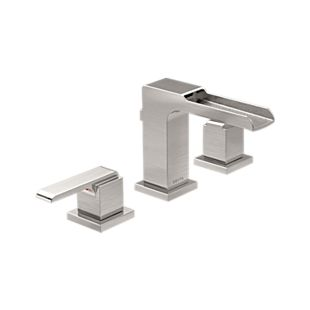 Ara Two Handle Widespread Channel Bathroom Faucet