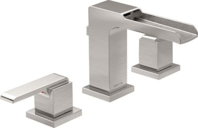 Wonderful Ara® Two Handle Widespread Channel Lavatory Faucet