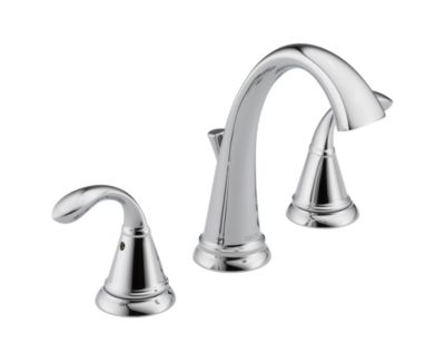 Zella Two Handle Widespread Lavatory Faucet