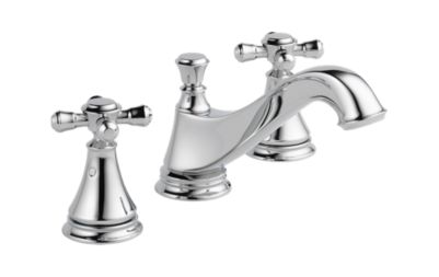 Cassidy Two Handle Widespread Lavatory Faucet with Metal Pop-Up - Less Handles