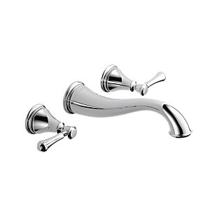 Cassidy™ Two Handle Wall Mount Lavatory Faucet