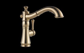 4197 Cz Dst Cassidy Single Handle Pull Out Kitchen Faucet