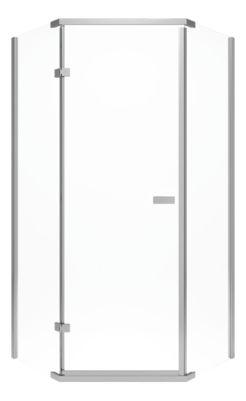 "Delta 38"" Frameless Neo Angle Shower Enclosure"