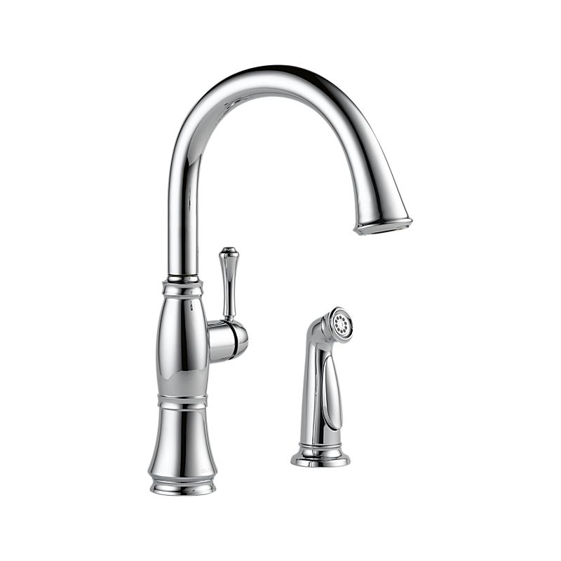 4297-DST Cassidy™ Single Handle Kitchen Faucet with Spray : Kitchen ...