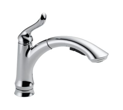 Linden Single Handle Water Efficient Pull-Out Kitchen Faucet