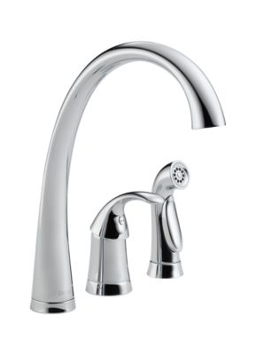 4380-Dst Pilar® Single Handle Kitchen Faucet With Spray : Kitchen