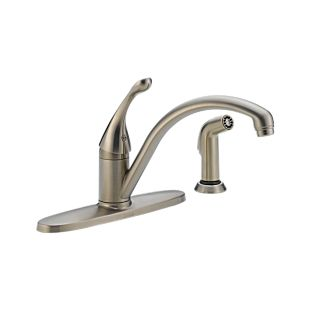 Collins Single Handle Water Efficient Kitchen Faucet with Spray